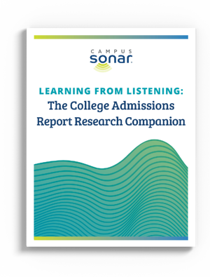 Admissions Report Research Companion